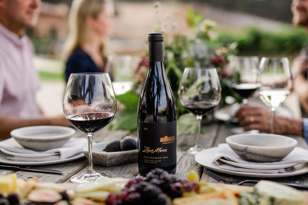Black bear wine picnic